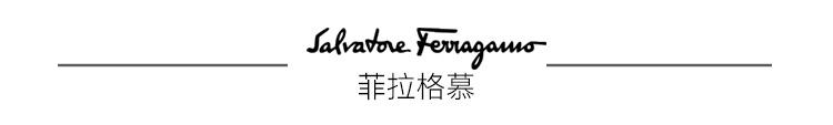 菲拉格慕(SalvatoreFerragamo)20ss春夏男士黑色牛皮革双面可调节皮带0725489_C_95(送男友送礼)