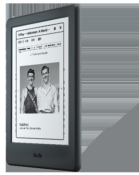 kindle 全新入门款升级版6英寸电子墨水触控显示屏电子书阅读器 wifi 黑色-京东
