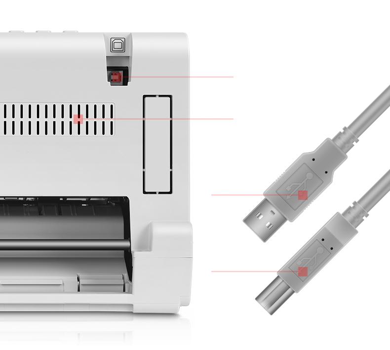 抢红包群(deli)DL-730K 发票针式打印机 快递单打印(80列平推式)-京东