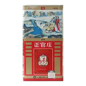 【京东超市】正官庄牌人参高丽参茶150g/盒(3g*50袋) 保健食品 免疫调节(韩国原装进口)-京东