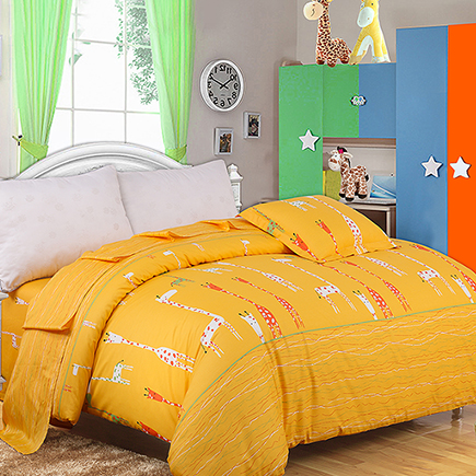 Avril Bedding Home Textiles Increase Double Quilt Single Clothes Cotton Cover 220 * 240 (Happy Deer) - Jingdong