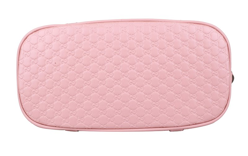 4ab8fe162 GUCCI Gucci Women's Pink Leather Shoulder Handle Shell Bag 449654 ...