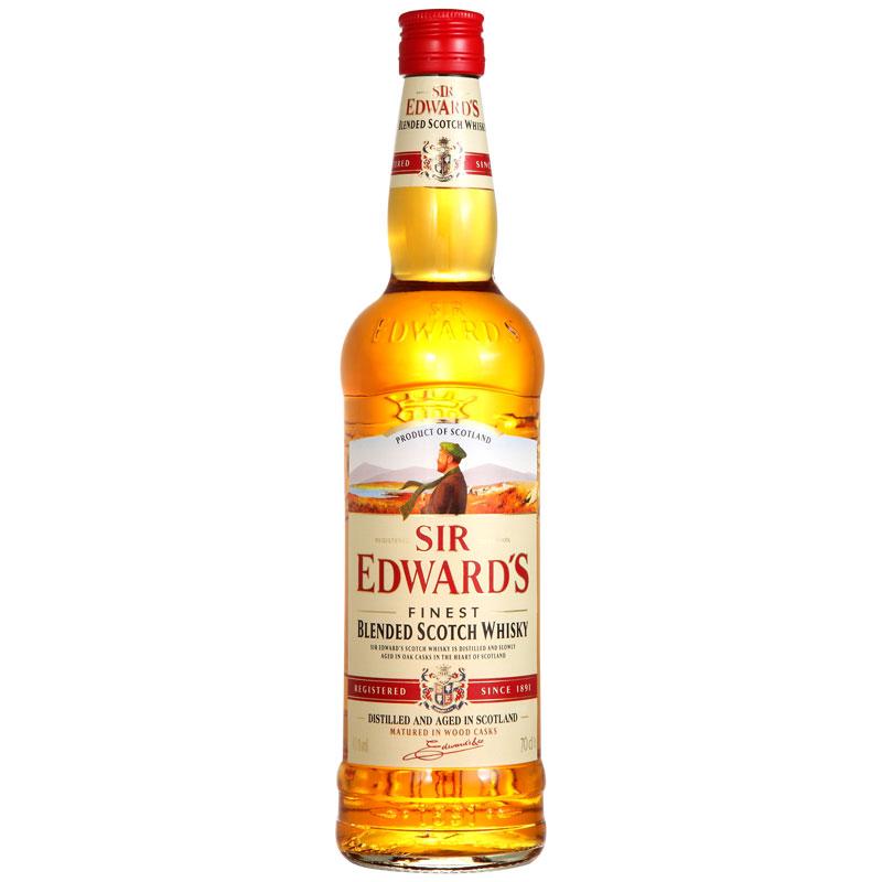爱德华爵士威士忌700ml-京东
