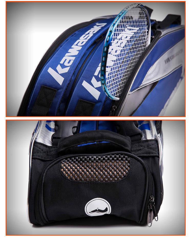 Túi đựng vợt cầu lông Kawasaki 6 TCC 8605 TCC-8605 - ảnh 16