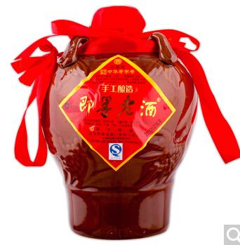 绍 绍兴黄酒 花雕王 陶坛 11度 500ml-京东