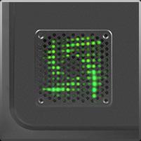 爱国者(aigo)黑暗骑士D8 黑色 中塔式机箱(支持ATX主板/USB3.0/标配12CM LED风扇/免工具设计)-京东