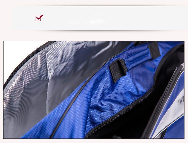 Túi đựng vợt cầu lông Kawasaki 6 TCC 8605 TCC-8605 - ảnh 12