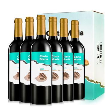 西班牙进口红酒 宜兰树 雷格娜伯爵系列葡萄酒750ml*6瓶 礼盒装-京东