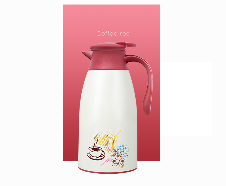 [Jingdong supermarket] Ran also (RAE) double glass liner insulation pot hot water bottle home office leakproof men and women warm water coffee pot 1.9L blue R7518-Jingdong