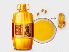 【京东超市】胡姬花 食用油 压榨 特香型花生油5L-京东