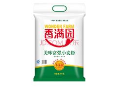 【京东超市】小麦粉 香满园 美味富强小麦粉 面粉5kg(包装...