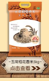 【京东超市】柴火大院 五常稻花香 东北大米 大米5kg-京东