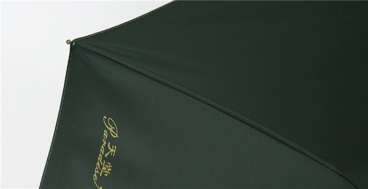 [Jingdong supermarket] Paradise umbrella since the opening (UPF50 +) Vinyl three fold sunny umbrella 3331E upgrade models moss green - Jingdong