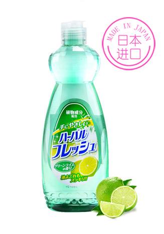 【京东超市】美净荣(Mitsuei)日本进口 柠檬味去油洗洁精600ml-京东