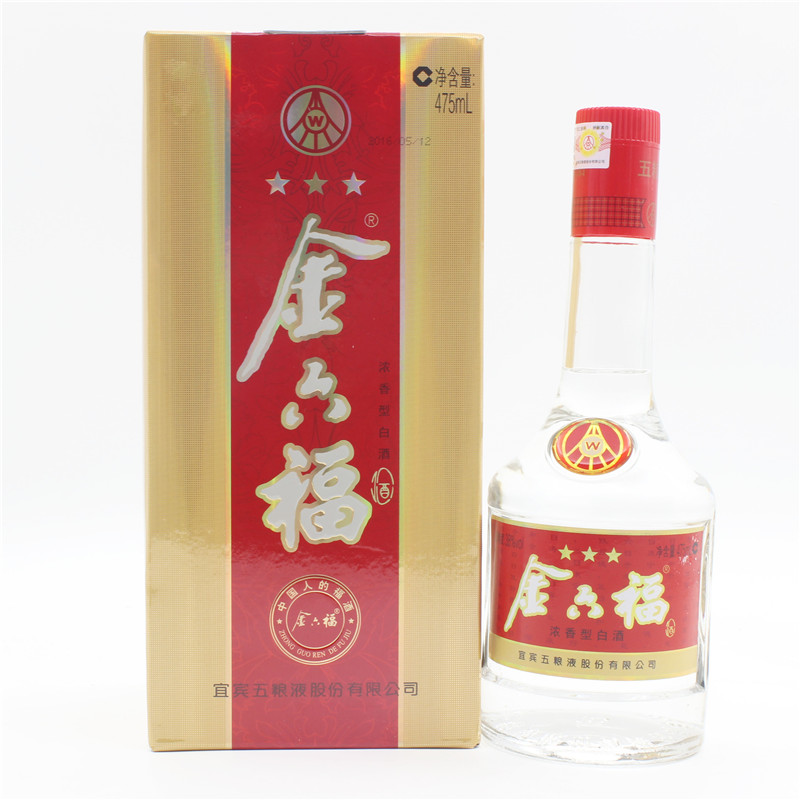 【京东配送】金六福浓香型白酒-京东