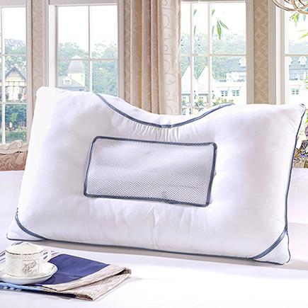 艾薇可水洗决明子枕头枕芯单人成人颈椎睡眠护颈枕磁疗枕正品一个45 70CM-京东