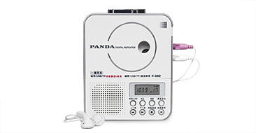 Panda (PANDA) F-332 Repeater tape machine English learning machine u disk tape t ...- Jingdong
